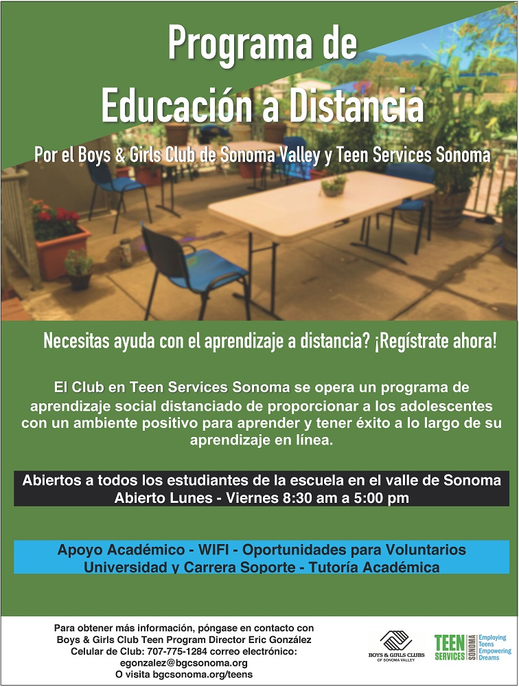 Distance Learning Program Spanish