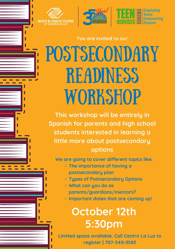 Post Secondary Workshop Page 2