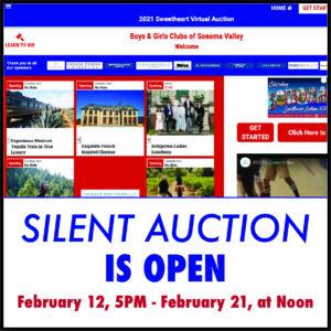 Silent Auction Is Open